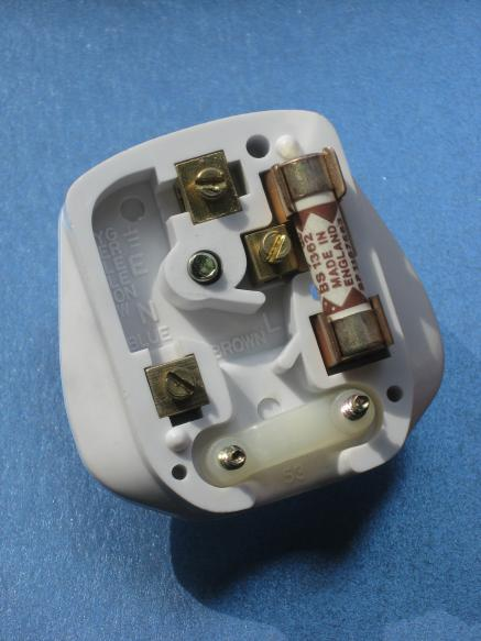 Internal View of UK Plug