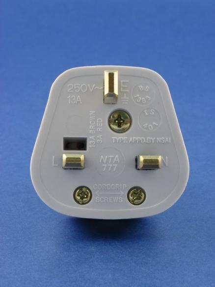UK Plug Pin Configuration